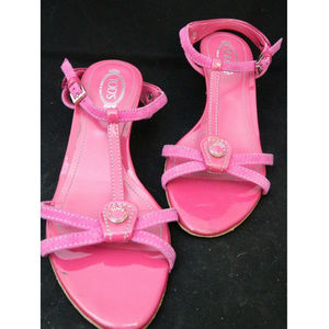 Tod's Ankle Strappy Heels Sandals Size 35